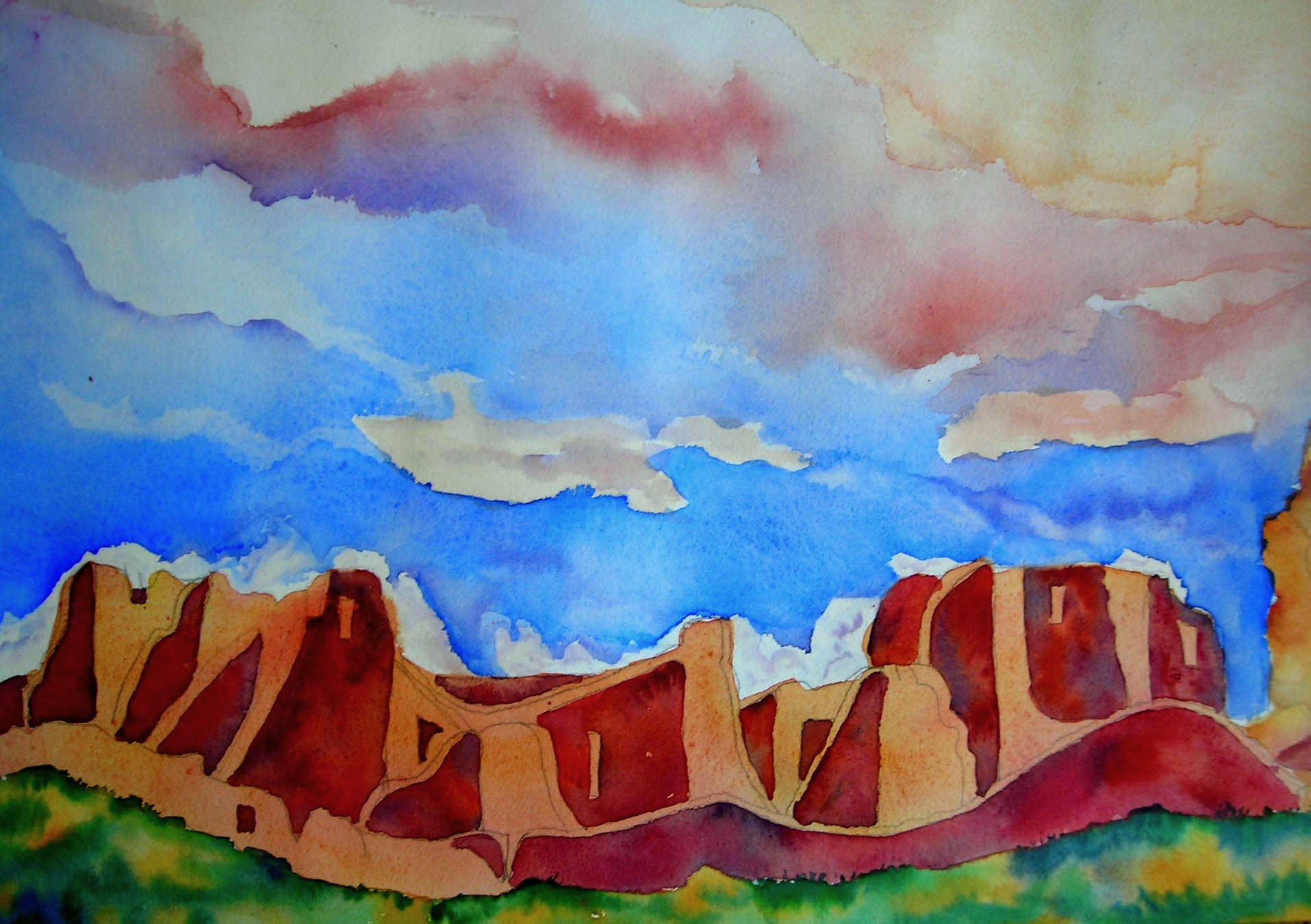 Chaco Village 2